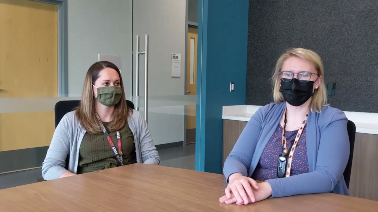 Knowledge Break webcast series with OSU oncologists Katie Curran and Haley Leeper