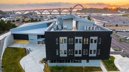 """Screenshot of Zoom meeting for LinkedinPractice. """"Professional cover photo"""" with professional headshots"""
